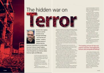 Hidden war on terror article