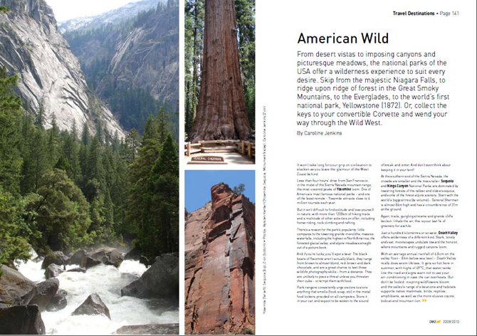 Touring - USA national parks