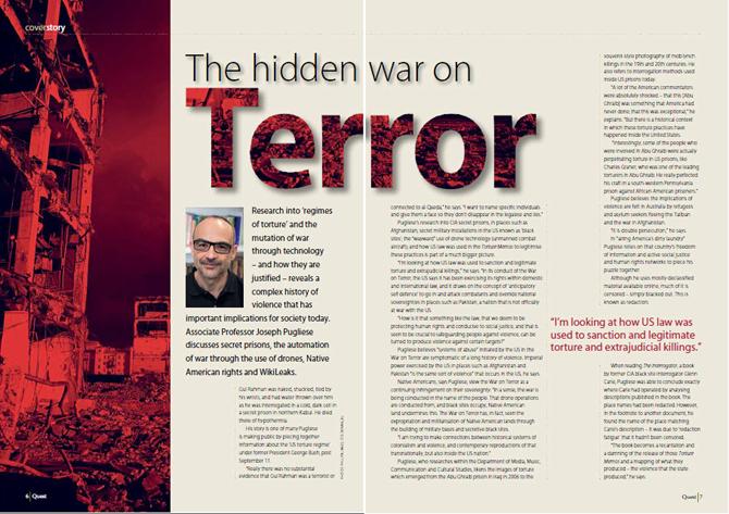 Research - Hidden war on terror