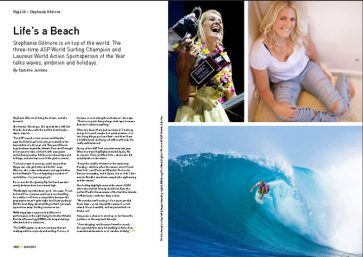 Stephanie Gilmore article