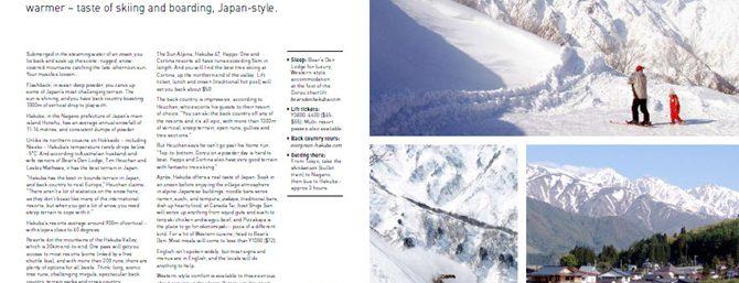 Ski & board - Japan
