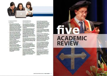 Annual report content