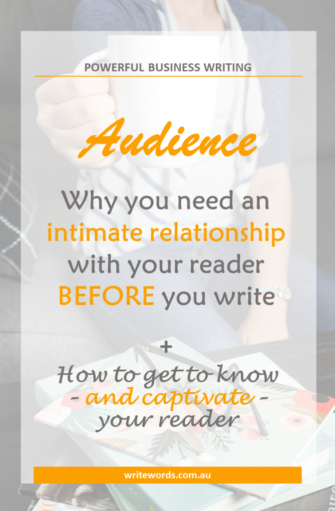 Why getting to know your reader is crucial – and how to do it #writing #audience #reader