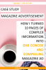 Copywriting - magazine ad